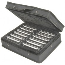 Set of twelve - Blues ten harmonicas