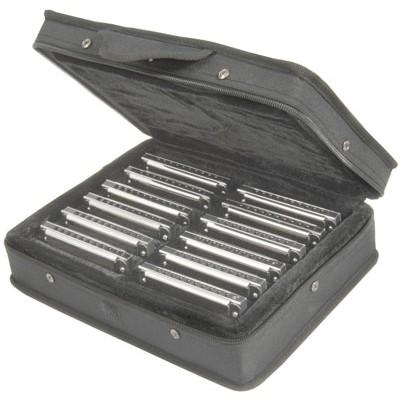 Set of twelve - Blues ten harmonicas
