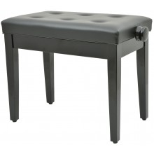 Adjustable Piano Bench (without compartment) - Black