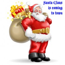 Santa Claus Is Coming To Town - Ketron Gold Single Styles