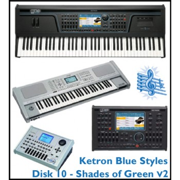 Shades Of Green Vol 2 - Ketron Blue Styles