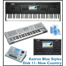 New Country - Ketron Blue Styles