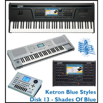 Shades Of Blue - Ketron Blue Styles