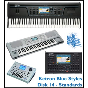 Standards - Ketron Blue Styles