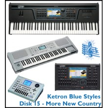 More New Country - Ketron Blue Styles