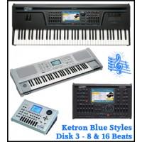 16 & 8 Beats - Ketron Blue Styles