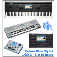 8 & 16 Beats - Ketron Blue Styles