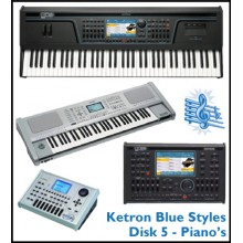 Piano - Ketron Blue Styles