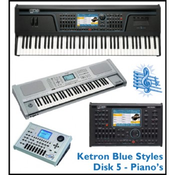 Piano - Ketron Blue Styles