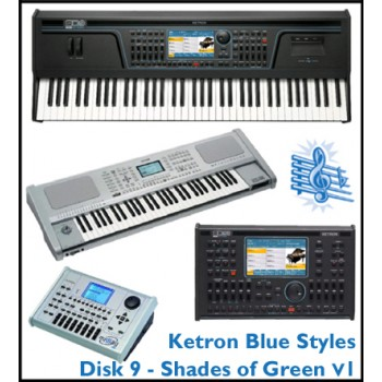 Shades Of Green Vol 1 - Ketron Blue Styles