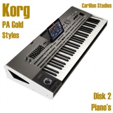 Piano's - Korg Gold Style Disk 2
