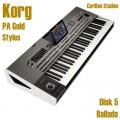 Ballads - Korg Gold Style Disk 5