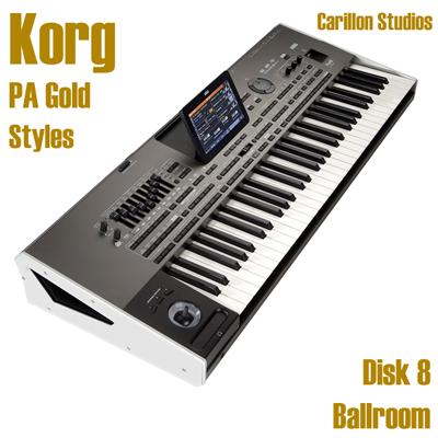 Ballroom - Korg Gold Style Disk 8