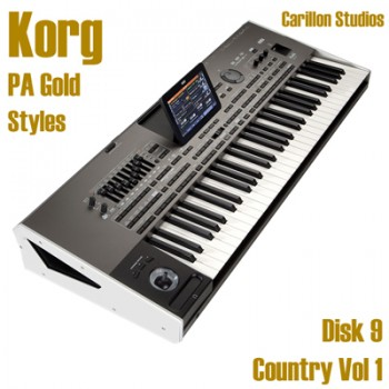 Country Vol 1 - Korg Gold Style Disk 9