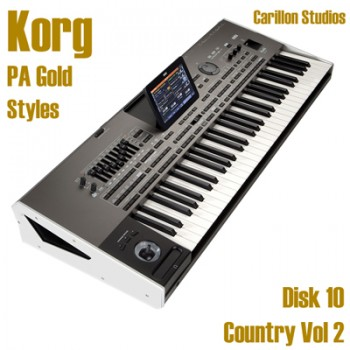 Country Vol 2 - Korg Gold Style Disk 10