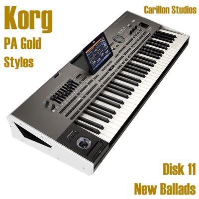 New Ballads - Korg Gold Style Disk 11