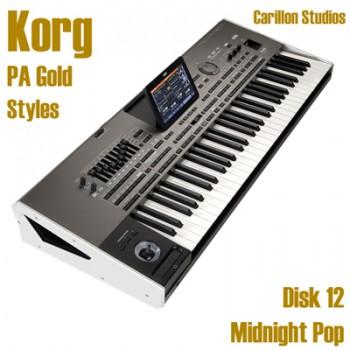 Midnight Pop - Korg Gold Style Disk 12