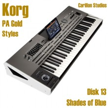 Shades Of Blue - Korg Gold Style Disk 13