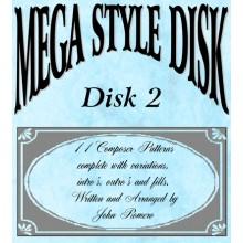 Mega Style Disk 2 - Technics EN4&GN6 Organ Styles