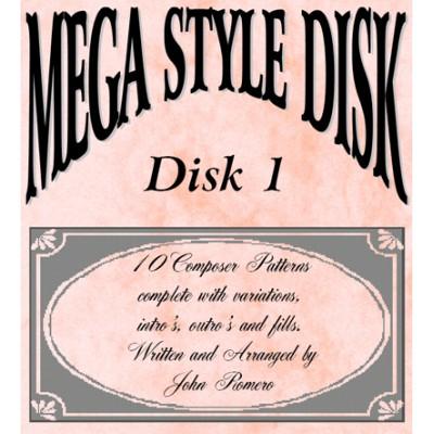 Mega Style Disk 1 - Technics GA Organ Style