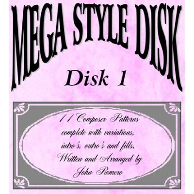 Mega Style Disk 1 - Technics GN9 Organ Styles