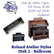 Ballroom - Roland Classic Styles Disk 2