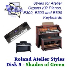 Shades of Green Vol 1 - Roland Classic Styles Disk 5