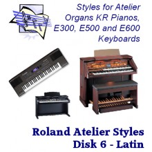 Latin - Roland Classic Styles Disk 6