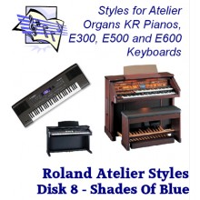 Shades of Blue - Roland Classic Styles Disk 8