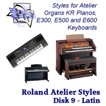 Latin Vol 2 - Roland Classic Styles Disk 9