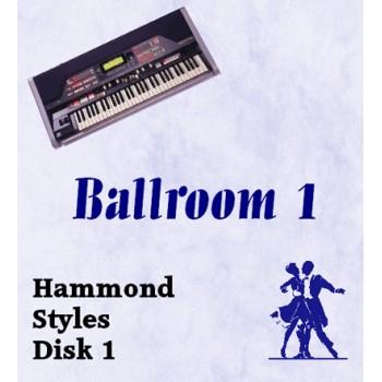 Ballroom Volume 1 - Hammond Style Disk 1
