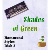 Shades of Green - Hammond Style Disk 3
