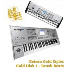 Brush Beats - Ketron Gold Styles Disk 1