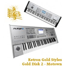 Motown - Ketron Gold Styles Disk 2