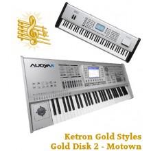 Motown - Ketron Gold Styles Disk 2