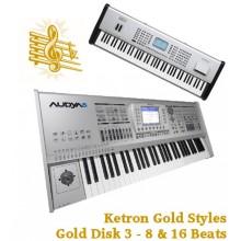8 & 16 Beats - Ketron Gold Styles Disk 3