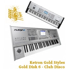 Club Disco - Ketron Gold Styles Disk 6