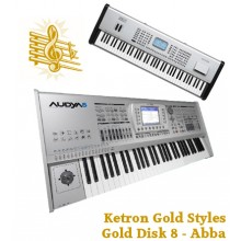 Abba - Ketron Gold Styles Disk 8