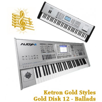 Ballads - Ketron Gold Styles Disk 12