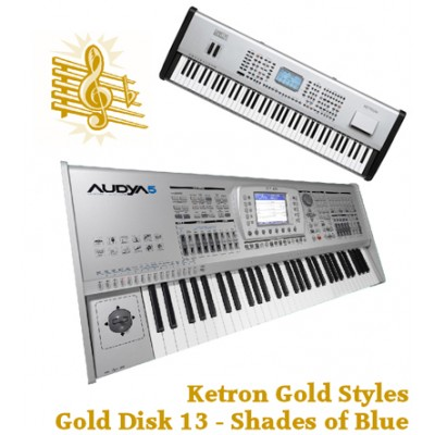 Shades of Blue - Ketron Gold Styles Disk 13