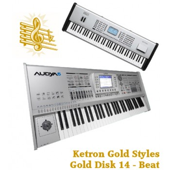 Beat - Ketron Gold Styles Disk 14