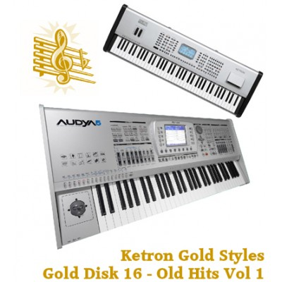 Old Hits Vol 1 - Ketron Gold Styles Disk 16