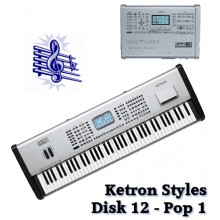 Pop 1 - Ketron Blue Styles Disk 12