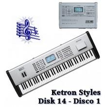 Disco 1 - Ketron Blue Styles Disk 14