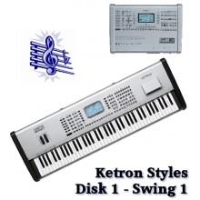 Swing - Ketron Blue Styles Disk 1
