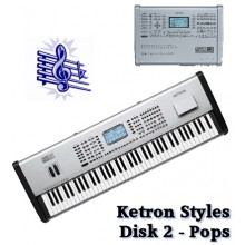 Pops - Ketron Blue Styles Disk 2
