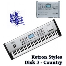 Country - Ketron Blue Styles Disk 3
