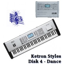 Dance - Ketron Blue Styles Disk 4