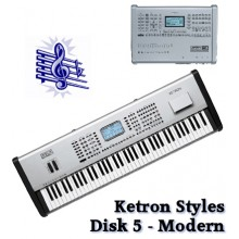 Modern - Ketron Blue Styles Disk 5