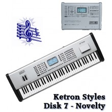 Novelty - Ketron Blue Styles Disk 7